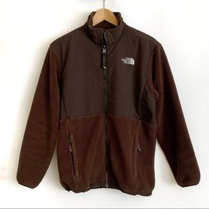 The North Face Fleece Jacket Brown Girl' XL/Women's S/M